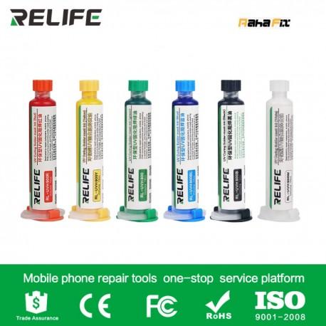 چسب UV (سرنگی) RELIFE