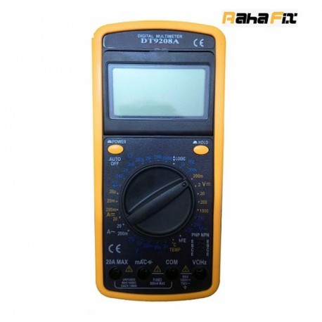 مولتی متر دیجیتالی  PERX 9208 A